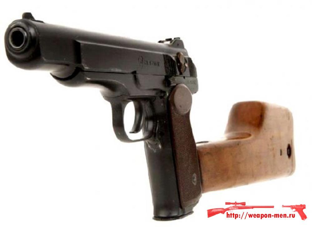 Травматический пистолет Стечкина МР-355