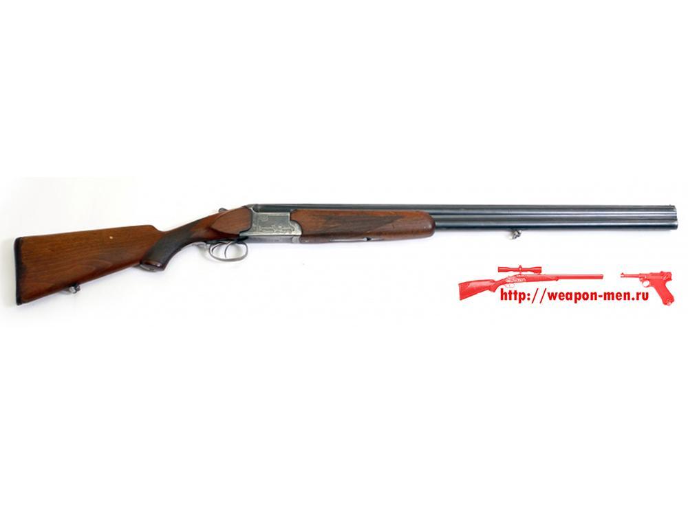 Двуствольное охотничье оружие ружьё ИЖ-12