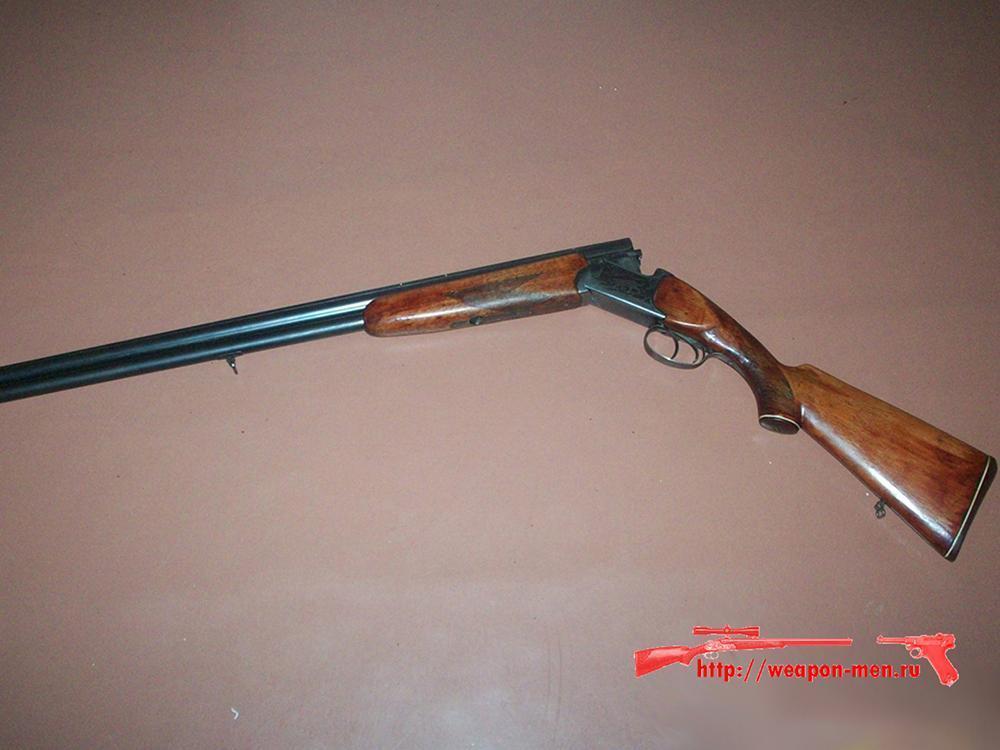 Двуствольное охотничье оружие ружьё ИЖ-27