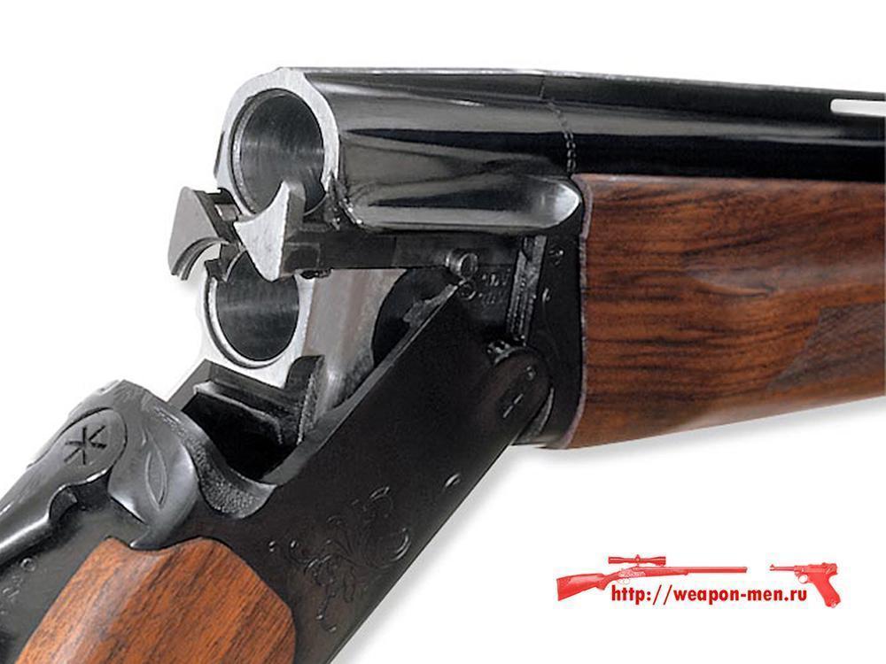 Гладкоствольное охотничье ружьё с вертикальными стволами ИЖ 27