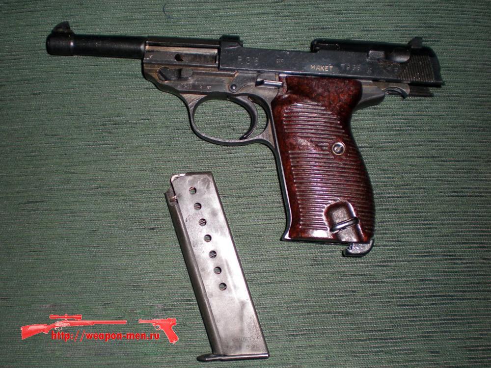 Walther P38 - Вальтер Р38 (На затворной задержки)