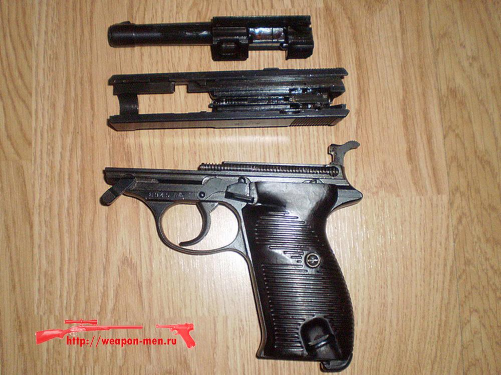 Walther P38 - Вальтер Р38 (Неполная разборка)