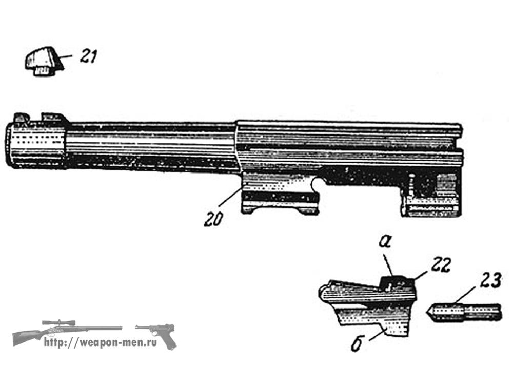 Walther P38 - Вальтер Р38 (Ствол)