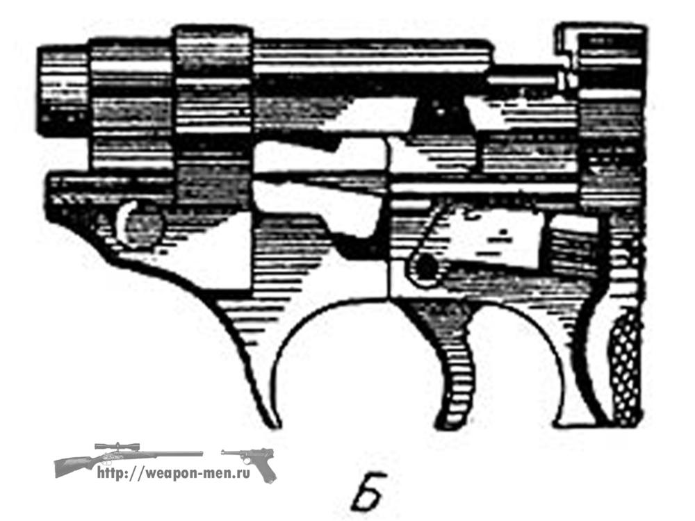 Walther P38 - Вальтер Р38 (Схема работы механизма запирания)