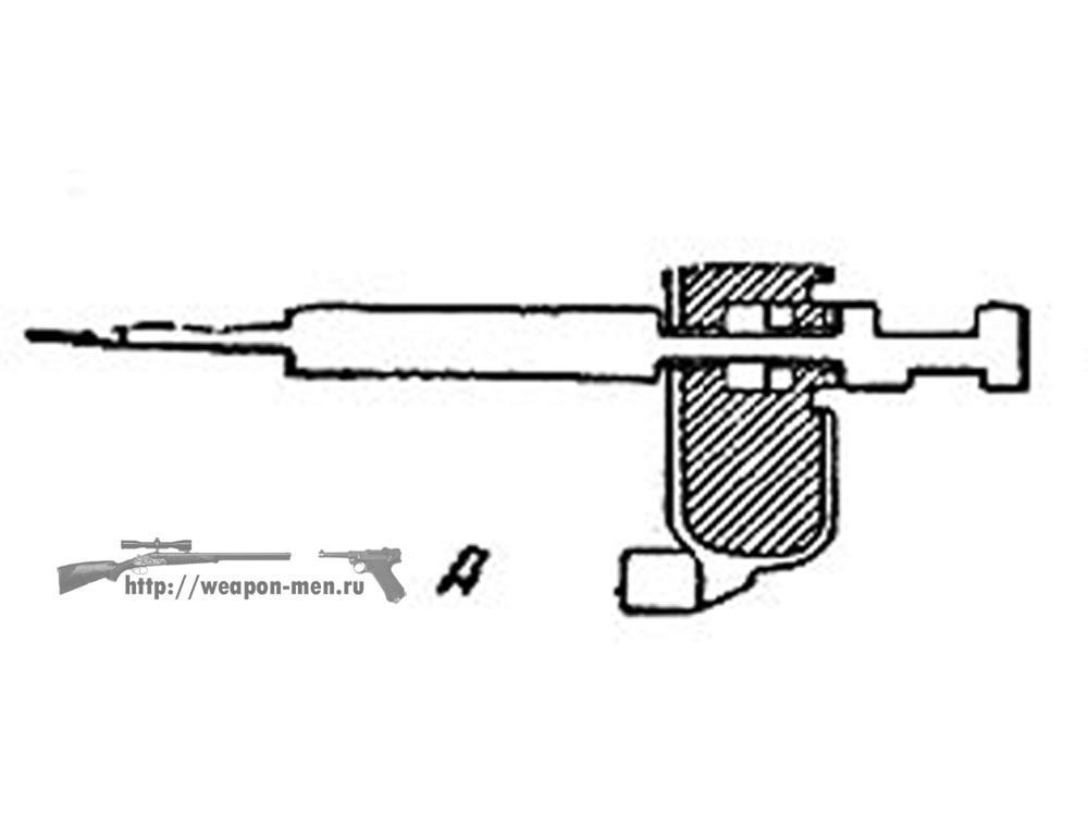 Walther P38 - Вальтер Р38 (Схема работы предохранителя от случайных выстрелов)