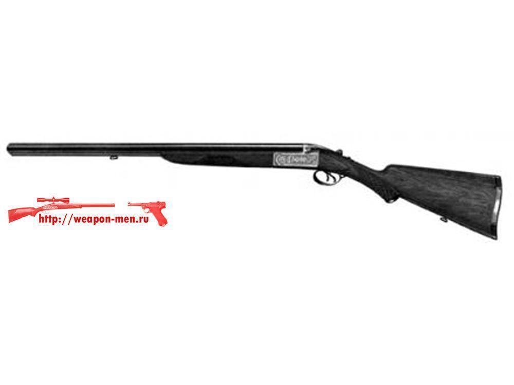 Двуствольное охотничье оружие ружьё ИЖ-58 с горизонтальным расположением стволов