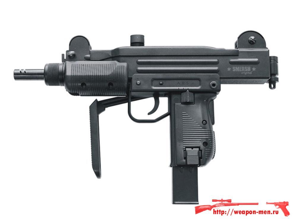 Пневматический пистолет  Узи SMERSH H52