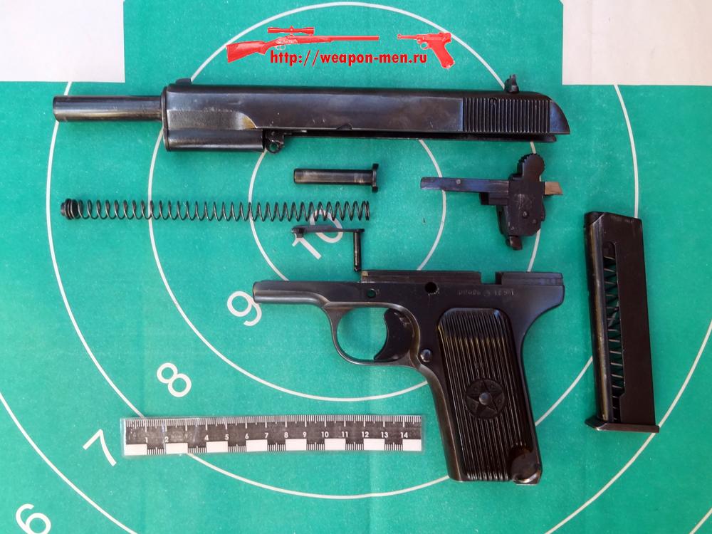 Травматический пистолет МР-81 (Неполная разборка)