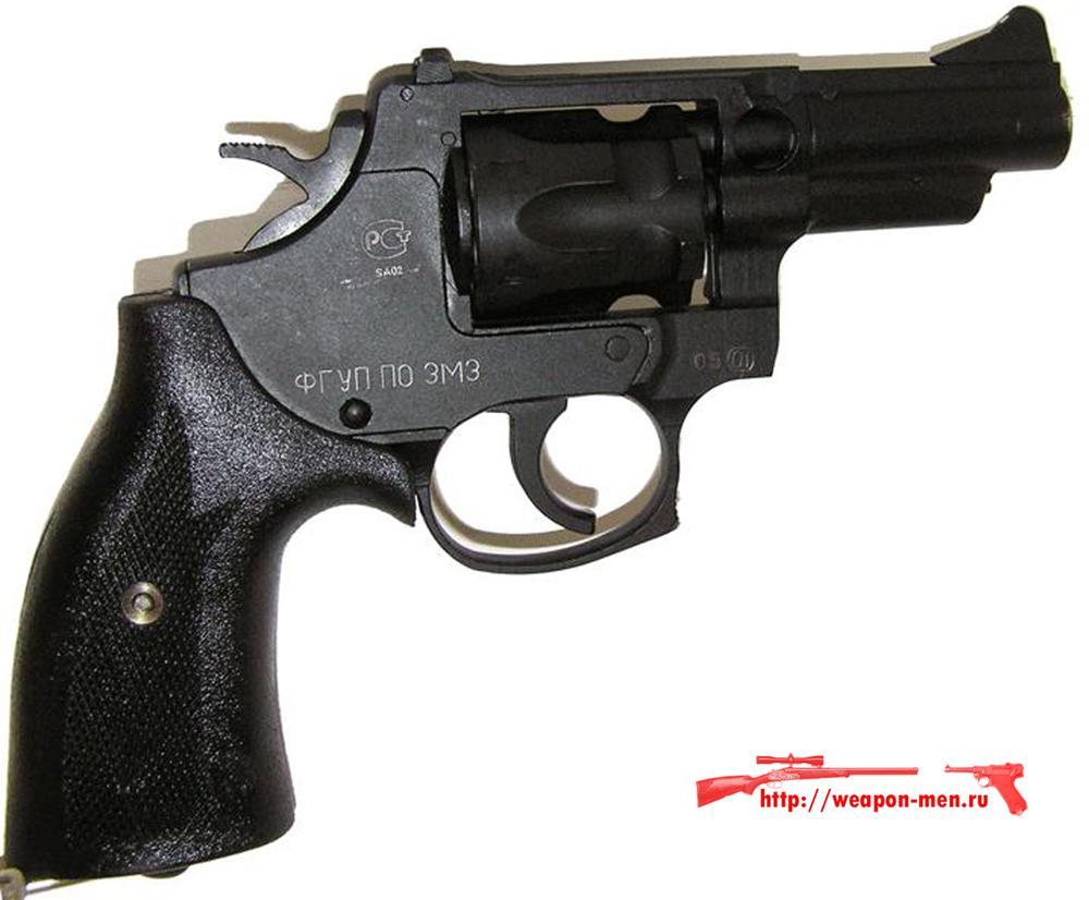 Травматический револьвер Агент