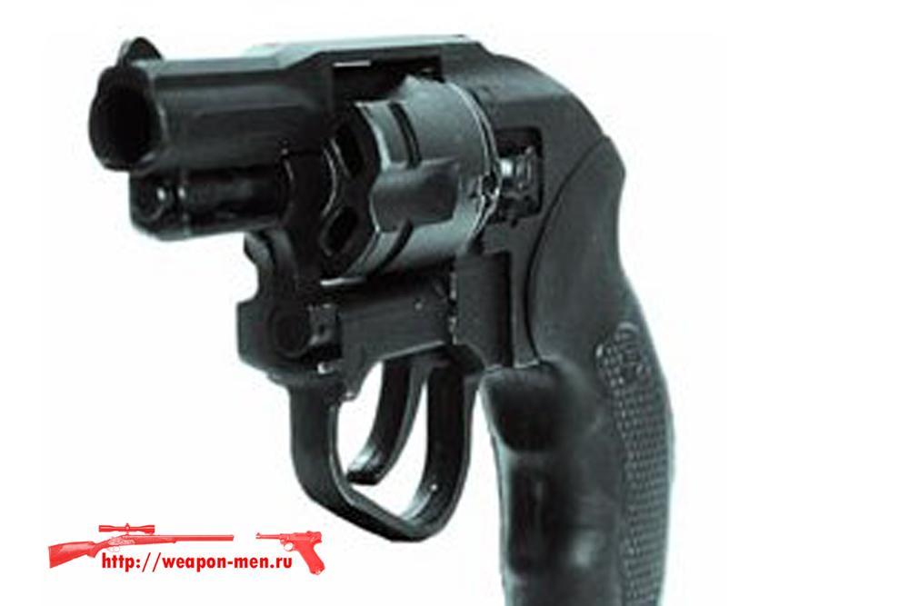 Травматический револьвер Шершень ММРТ-1