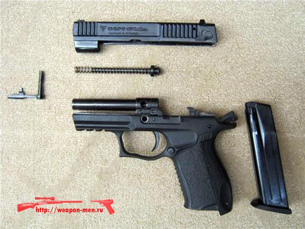 Травматический пистолет Форт-17Т (Неполная разборка)