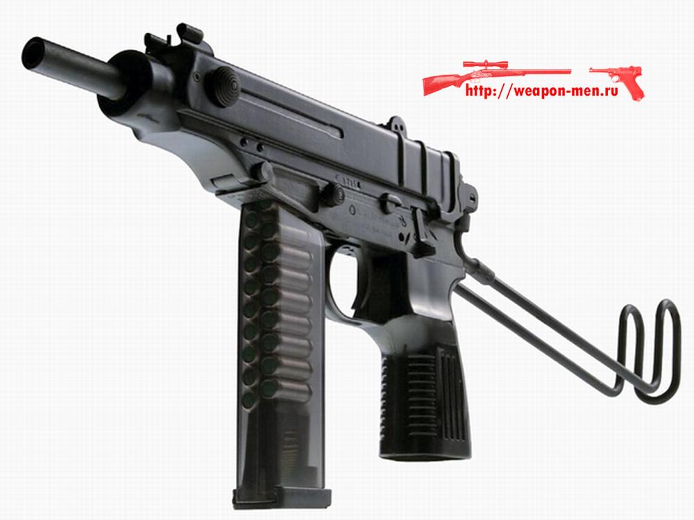 Травматический пистолет Scorpion SA vz. 61 Rubber