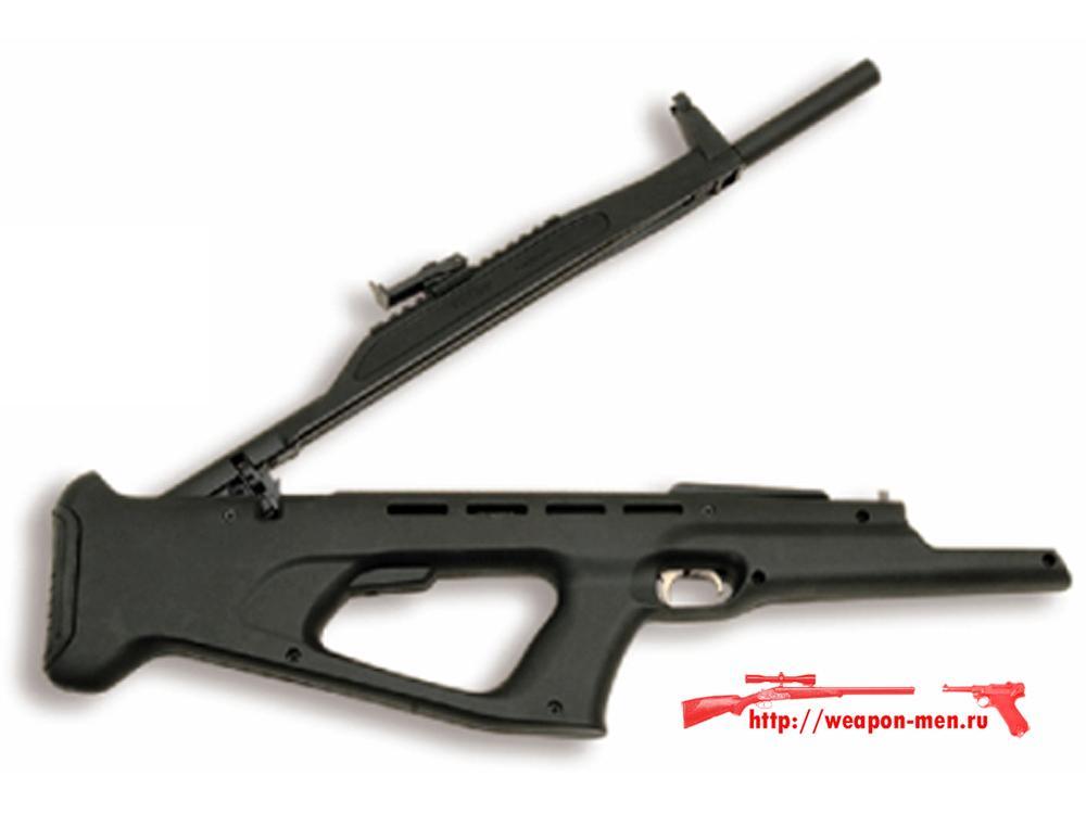 Пневматическая малогабаритная винтовка МР-514К (Взведение магазина)