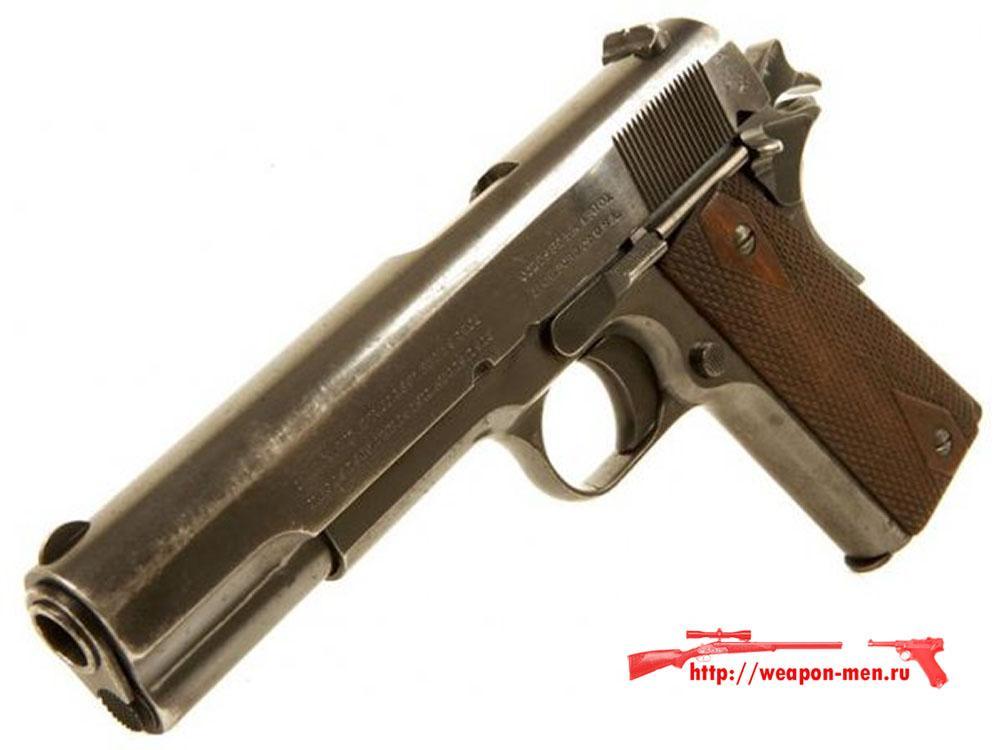 Пистолет Colt M1911 выпуска 1913 года