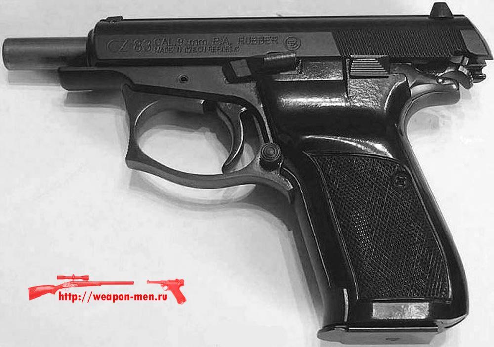 Травматический пистолет CZ-83 Rubber