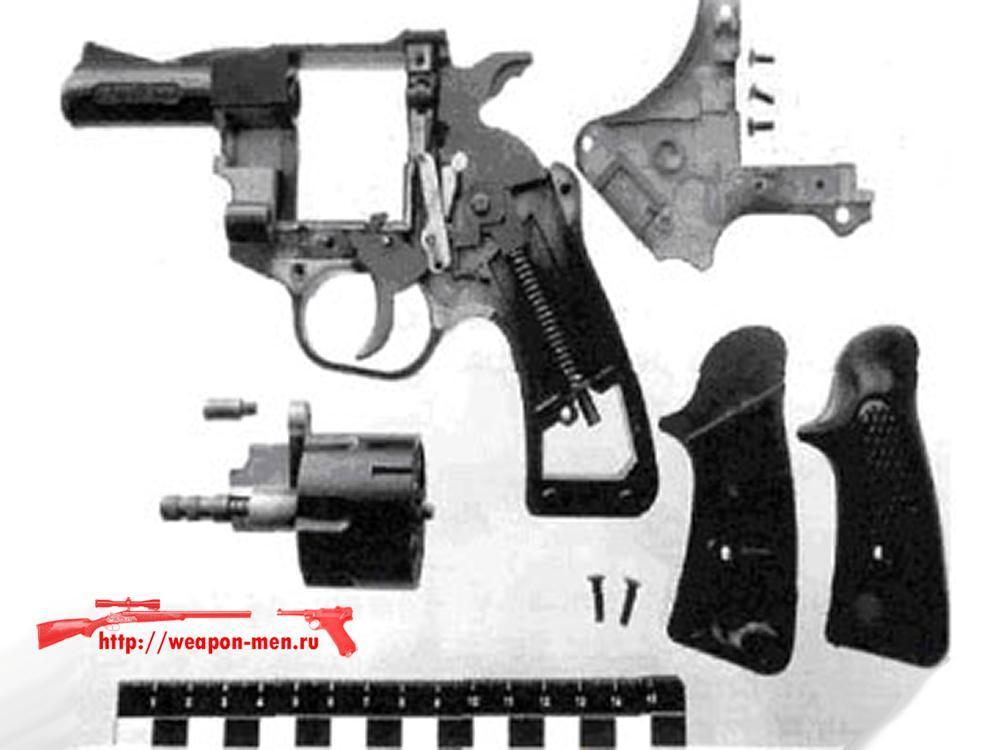 Травматический револьвер Корнет-С