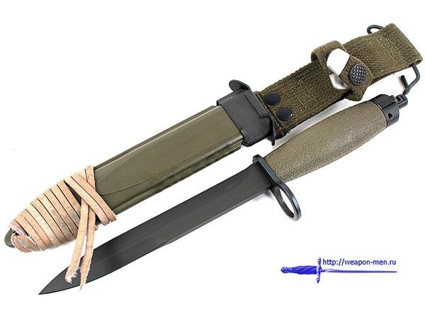 Штык-нож образца 1968 года к автоматической винтовке AG-3